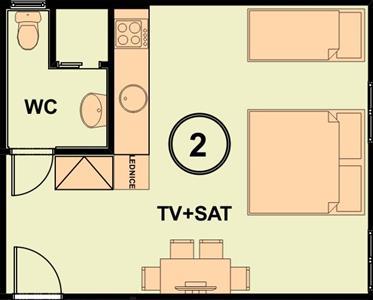 Náhled apartmánu