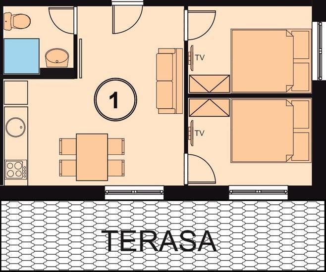 Chata Relax apartman1