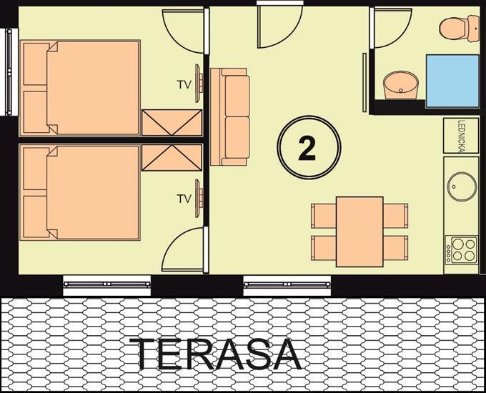 Chata Relax apartman2