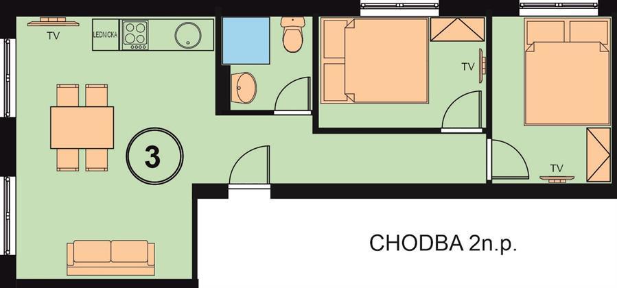 Chata Relax apartman3